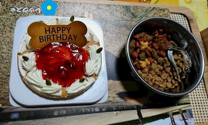 お誕生日のディナー