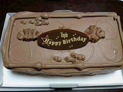 おばあちゃんからバースデーケーキ